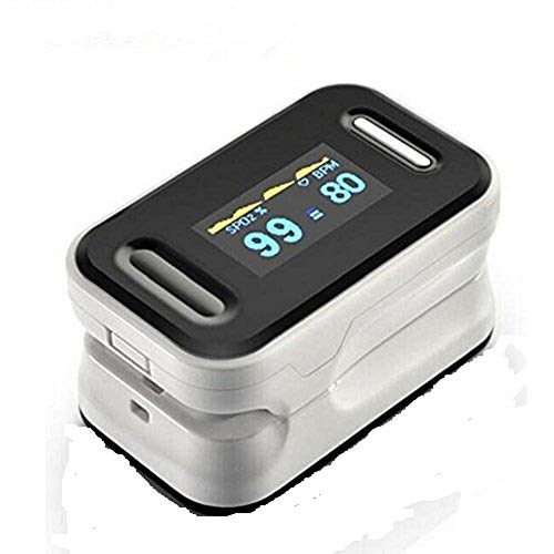 Oximeter-Sauerstoff-Sättigungs-Detektor-medizinischer Fingertip-Pulsoximeter-Sauerstoff-Sättigungs-Detektor OLED-Anzeige-Doppelalarm-Funktion Portable (dieses Produkt enthält keine Batterien)