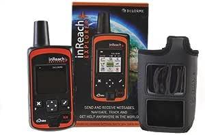 DeLorme inReach Explorer bidirectionnelle par satellite Communicator avec construit dans la navigation avec Black flottage Case En GTC