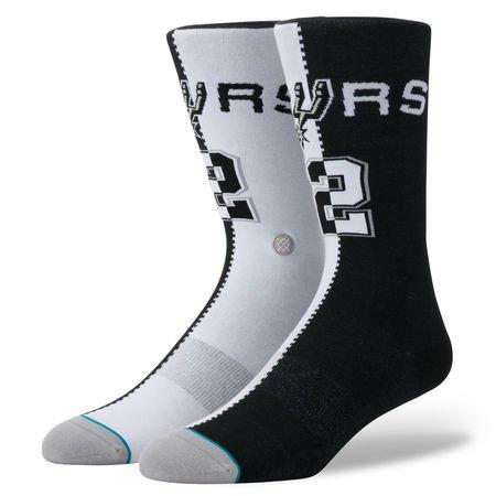 Stance Kawhi Leonard San Antonio Spurs Split Jersey NBA Socken, M
