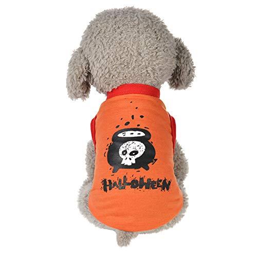 (Halloween Haustier Kleid Puppy Festival Bequeme Pullover Strickwaren Kleidung Kleinen Welpen Kostüm Winter Warme)