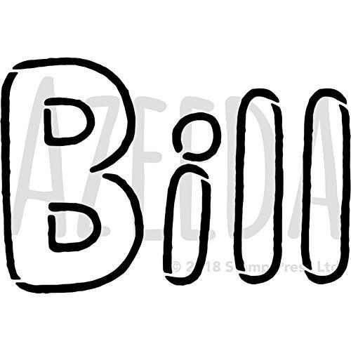 A4 'Bill' Wandschablone / Vorlage (WS00024383)