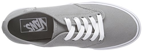 Vans Damen Camden Stripe Sneaker Grau (canvas/wild Dove/white)