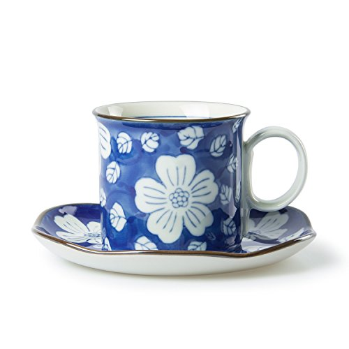 chinzee-mug-a-cafe-ensemble-de-tournesol-bleu-et-blanc-en-porcelaine-fait-main-expresso-tasse-a-the-