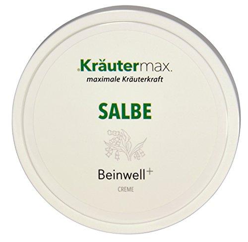 Beinwell-Salbe 1 x 100 ml - auch Beinwell-Creme - Beinwell-Balsam - Beinwell-Paste - mit Beinwell-Extrakt, Rosmarin und Wacholder-Öl -