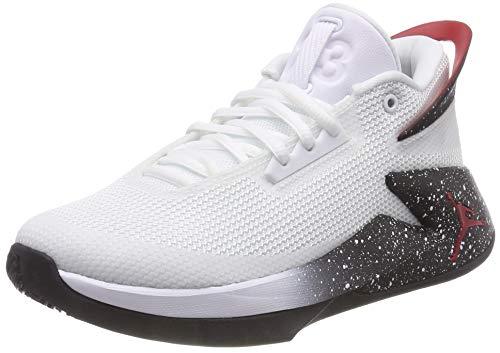 Jordan Jungen Fly Lockdown (GS) Basketballschuhe, Mehrfarbig (White/Gym Red/Black 100), 38 EU
