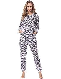 Merry Style Pijama Entero para Mujer MS10-175