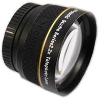 Polaroid Studio Series 2.2X High Definition Telephoto Lens Téléobjectif Noir - lentilles et filtres d'appareil photo (Téléobjectif, Noir, 3,7 cm, Boîte)