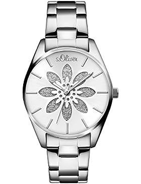 s.Oliver Damen-Armbanduhr SO-3235-MQ