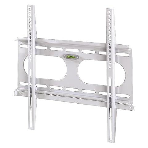 Hama TV-Wandhalterung Ultraslim für 81 - 142 cm Diagonale (32 - 56 Zoll), VESA 50 x 50 bis 400 x 400, für max. 50 kg, Wandabstand 25mm,