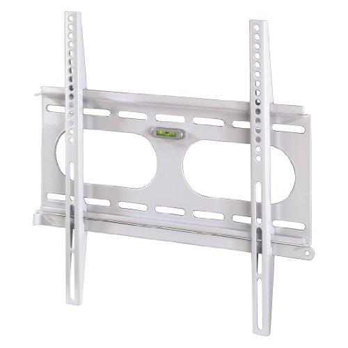 Hama TV-Wandhalterung Ultraslim für 81-142 cm Diagonale (32-56 Zoll), VESA 50 x 50 bis 400 x 400, für max. 50 kg, Wandabstand 25mm, weiß