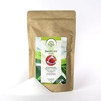 SweetCare Kristall-Zucker ist der natürlicher Zuckerersatz mit Erythrit und Stevia im 1 Kg Beutel