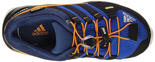 adidas Terrex Gtx K, Chaussures de Sport Mixte Bébé Bleu / noir / orange (bleu équipement / noir essentiel / orange équipement)