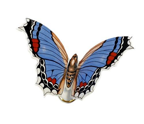 Kämmer petit Porcelaine Papillon