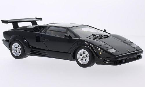 Lamborghini Countach, schwarz, 1988, Modellauto, Fertigmodell, AUTOart 1:18