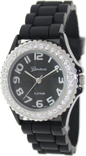 Geneva Platinum 6886.Black Mujeres Relojes