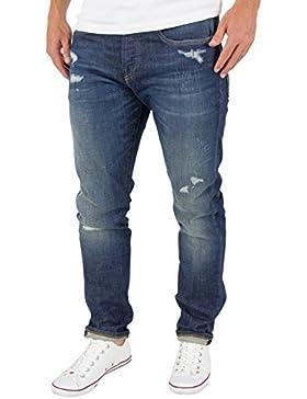 Scotch & Soda Uomo Ralston slim fit Jeans, Blu