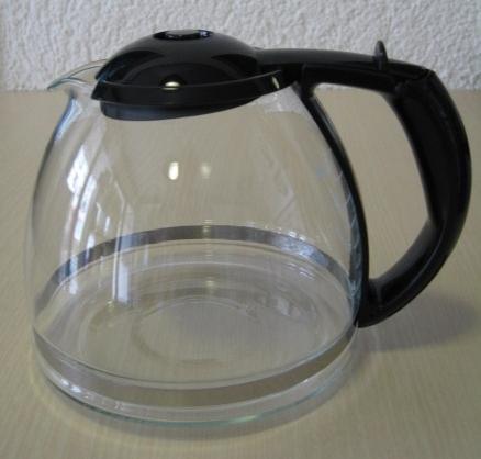 Ersatzkanne / Glaskanne Siemens Kunststoff schwarz für TC24011N schwarz ACHTUNG !!!!! passt nicht in die TC11....