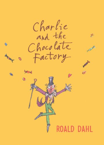 Book cover for Charlie and the Chocolate Factory