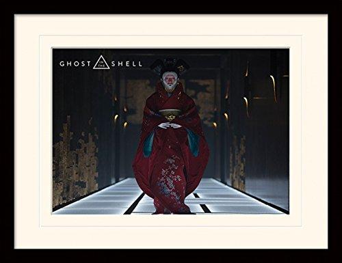 1art1-102920-ghost-in-the-shell-geisha-gerahmtes-poster-fur-fans-und-sammler-40-x-30-cm