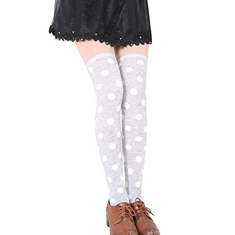 Costumes Avec Long Black Socks - Reaso ® Femmes Longue Bas, Sexy moucheture