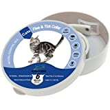 EXPAWLORER 8 Months Essentail Oil Collar - Flea Collars, Best Tick and Flea Control for Cats