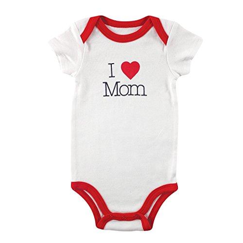 Luvable Friends - Body - Bébé (garçon) 0 à 24 mois Blanc White I Love Mom