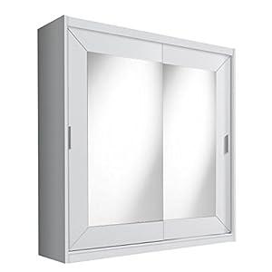 kleiderschrank wei spiegel. Black Bedroom Furniture Sets. Home Design Ideas