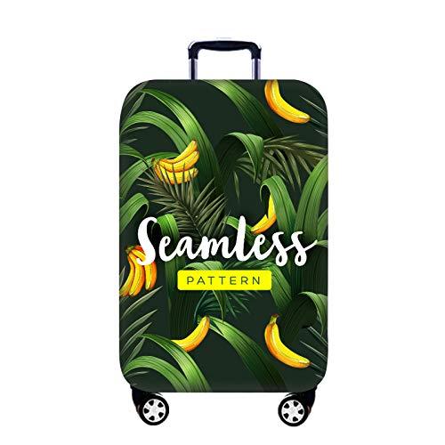 GIYL Reisegepäckabdeckung, Kofferabdeckung, Schutzhülle aus Polyester-Spandex-Koffer, Schutzhülle gegen Kratzer, für 18-32-Zoll-Gepäck,g,XL