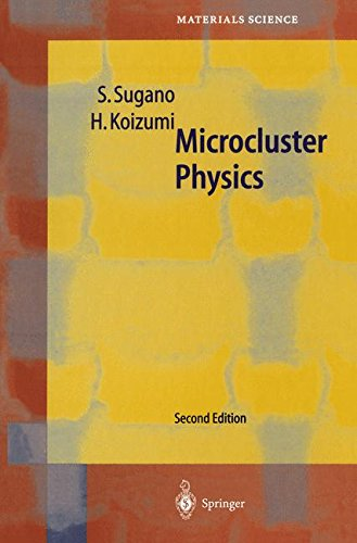 MICROCLUSTER PHYSICS. : 2nd edition, édition en anglais par Satoru Sugano