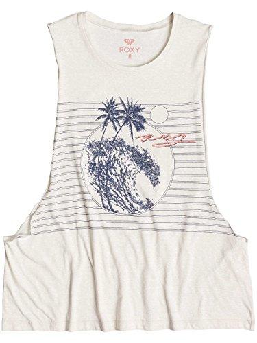 Roxy Damen Vest Retro Beach Muscle offwhite