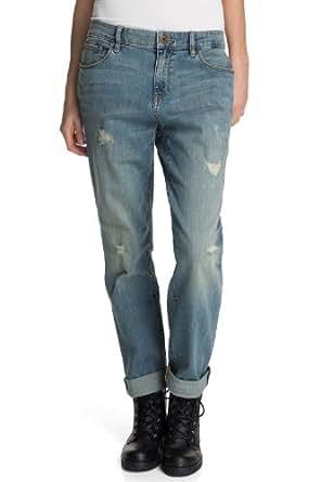 ESPRIT Jeans Boyfriend Femme - Gris - Grau (764 E RUPTURE) - FR : W26/L32 (Taille Fabricant : 26/32)