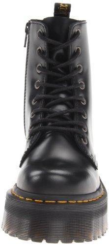 Dr. Martens 15265001 Jadon Polished Smooth, Scarpe Stringate Basse Brogue Unisex-Adulto Nero (Black Polished)