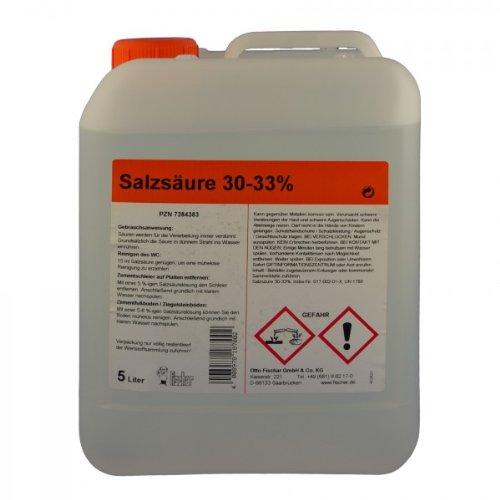 Salzsäure 30-33 % 5 L