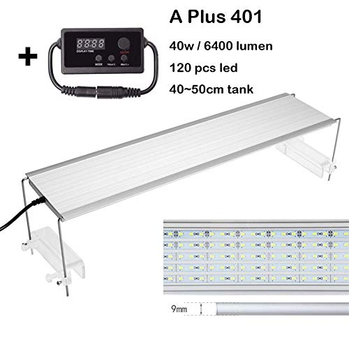 WML-LAMP Chihiros A Plus-Serie Wasserpflanze wachsen LED-Licht S2 Pro Sunrise Sunset Timmer Dimmer ADA-Stil Aquarium Wasserpflanze Aquarium Aquarium (Color : Plus 401 Controller) -