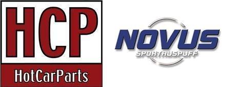 Novus Sportauspuff Gruppe N 2x90 RL-Design