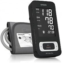 OMRON MIT Elite Plus - Tensiómetro de brazo, detección del pulso arrítmico, transferencia de
