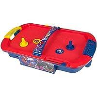 Marvel Comics Spiderman Elektronisch Air Hockey Tisch Spielzeug 2 Player Spiel Kinder Arcade drücker-scheiben Familie Spielset Weihnachtsgeschenk