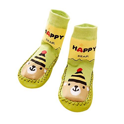Huhu833 Baby Socken, Cartoon Kinder Kleinkind Baby Anti-Rutsch Socke Schuhe Stiefel Slipper Socken Boden Socken