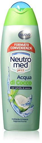 Neutromed - Bagno schiuma, Nutriente e Fresco Con Estratto di Cocco- 750 ml