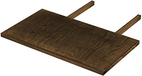Brasilmöbel Ansteckplatten 50x90 Eiche antik Rio Classiko oder Rio Kanto - Pinie Tischverlängerung Echtholz - Größe & Farbe wählbar - für Esszimmertisch Holztisch Tisch ausziehbar