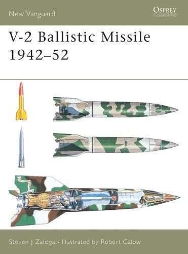 V-2 Ballistic Missile 1942-52 (New Vanguard) por Steven J. Zaloga