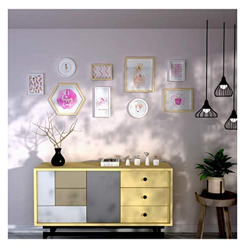 Hyvaluable Kleine frische Bilderrahmen Kombination Fotoalbum Bild Wand Innenwand Kinderzimmer Schlafzimmer Dekoration Wandbild Hängenden Rahmen