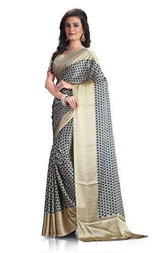 A G Lifestyle Women's Silk Saree(RSPL503 B_Multi-Coloured)