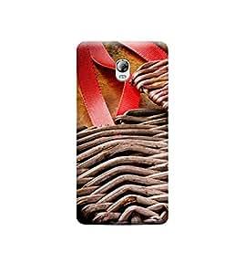 Ebby 3D Printed Back Case Cover For Lenovo Vibe P1 (Premium Designer Case)W106