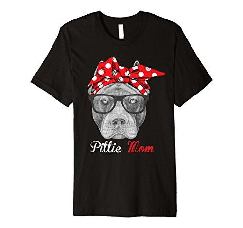 Pittie Mom Shirt für Pitbull Dog Lovers-Mütter Tag Geschenk