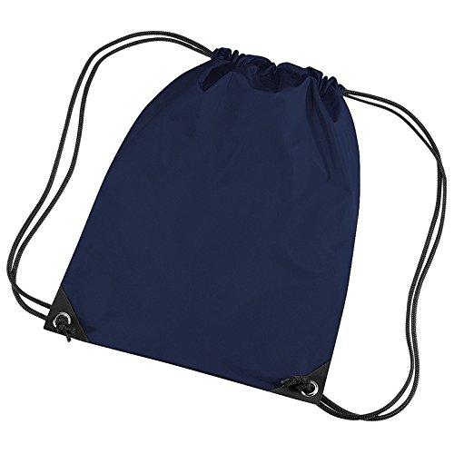BagBase BG10BagBase Premium Gymsac francés azul marino