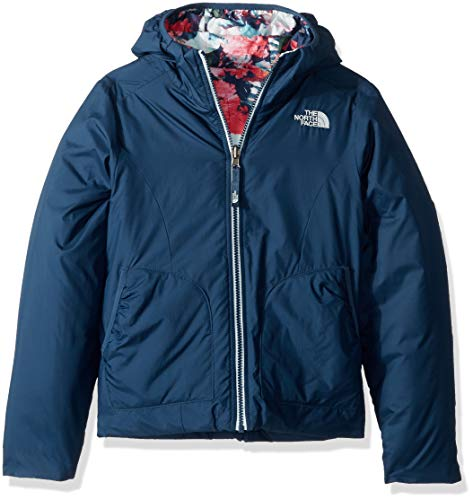 THE NORTH FACE Rev Perrito Jacket Girls Blue Wing Teal Kindergröße XS | 110-120 2018 Funktionsjacke North Face Kids Outerwear