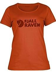 Logo T-Shirt, flame orange, S