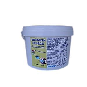tratamiento fosas septicas: BIOFRESH SPURGO Activador para purga biológica kg.3