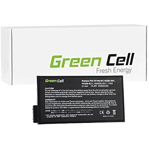 Green Cell® Standard Serie Batería para Compaq Evo N800W-470056-779 Ordenador (8 Celdas 4400mAh 14.8V